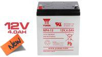 Bateria Yuasa NP4-12 chumbo-ácido 12V  4 Amp